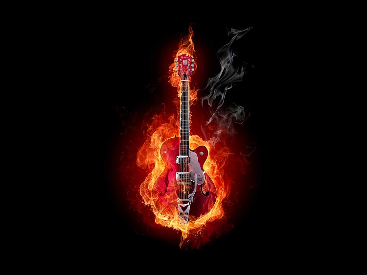 Custom Gadget Clocks-2184_realistic_flaming_guitar_fire.jpg