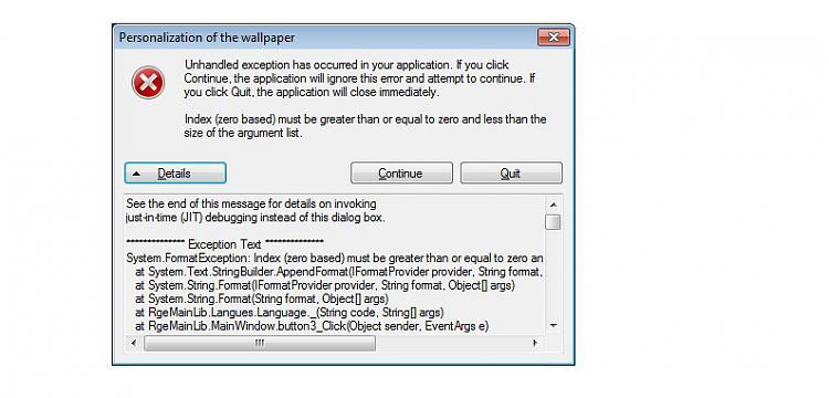 Cannot choose wallpaper, System Format Exception-system-error.jpg