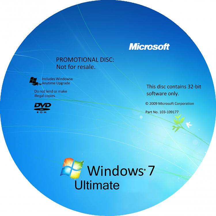 Custom Windows 7 DVD Cases And Covers-32bit-harmony1.jpg