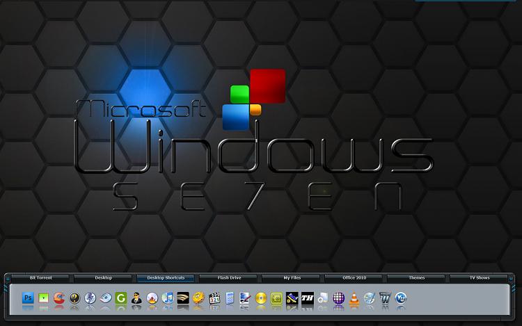 Set a screensaver as a wallpaper-currentwin7desktop.png