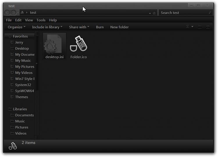 Permanent Custom Folder Icon? Solved - Windows 7 Help Forums