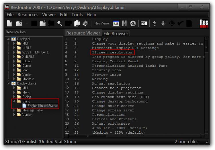 Item name in context menu changes itself-restorator-2007-cusersjerrydesktopdisplay.dll.mui.png