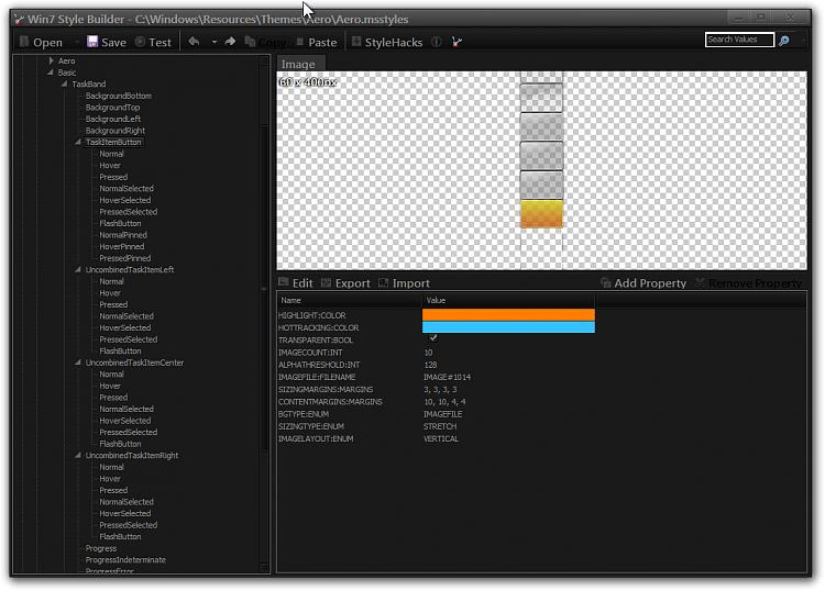 Style Builder taskbar button shading for running apps.-win7-style-builder-cwindowsresourcesthemesaeroaero.msstyles.png