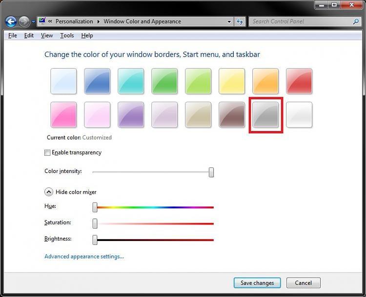change taskbar and window borders to black-color.jpg
