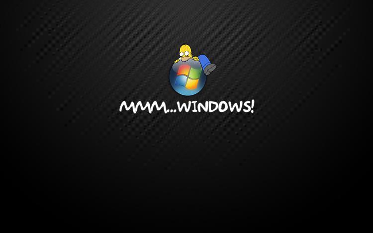 Custom Windows 7 Wallpapers [continued]-homersimpson15.jpg