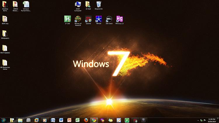 Desktop customization - Windows 7 Help Forums