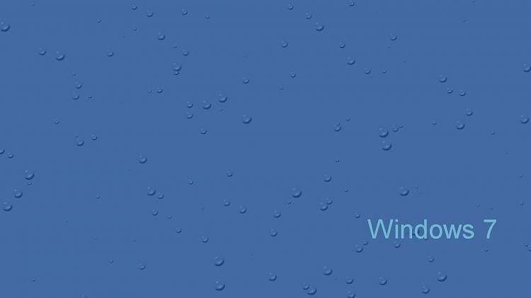 Custom Windows 7 Wallpapers [continued]-blueraindropsw07.jpg