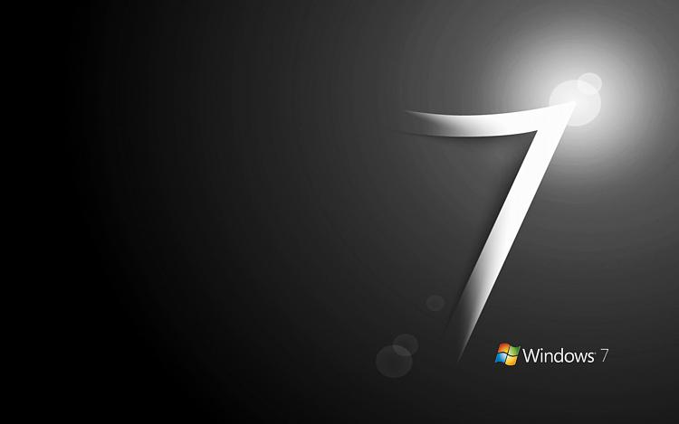 Custom Windows 7 Wallpapers [continued]-windows7blackwlogo.jpg