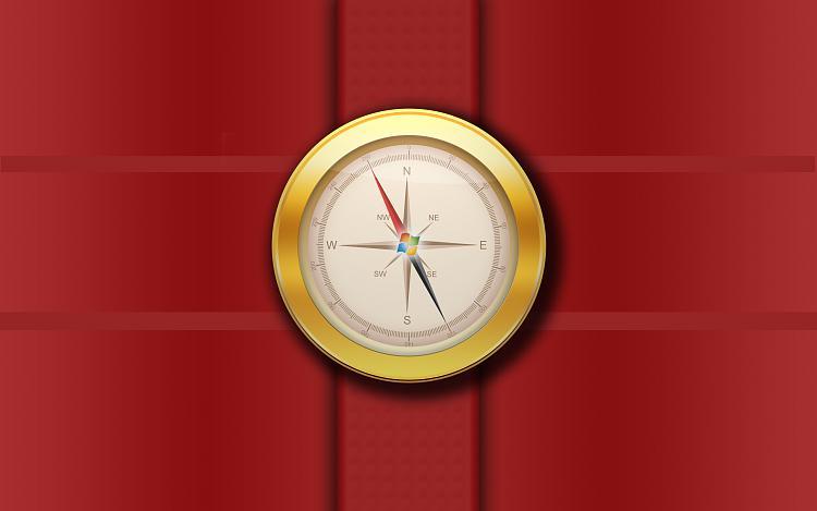 Custom Windows 7 Wallpapers [continued]-windowscompassbyabhishekbigfordocbrown_red.jpg
