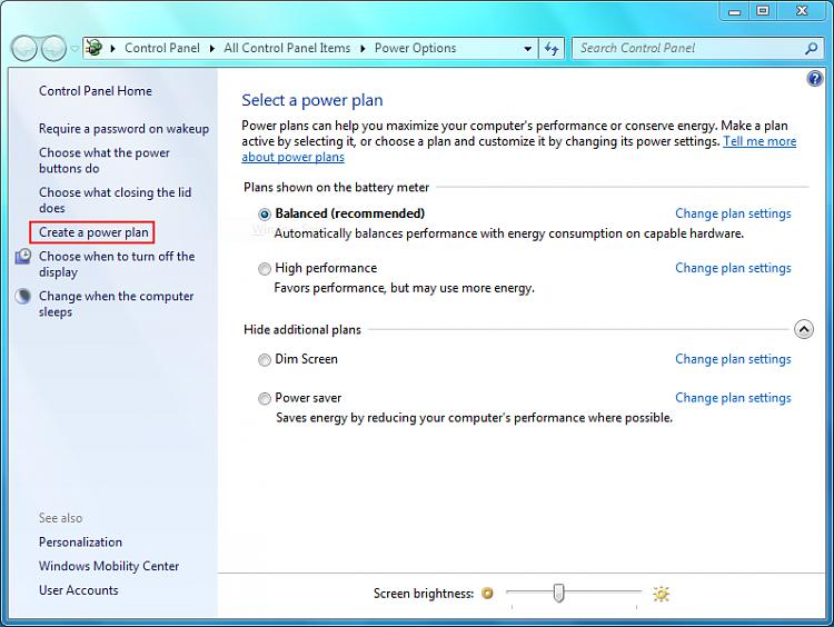 Dim laptop screen through windows-power-options.png