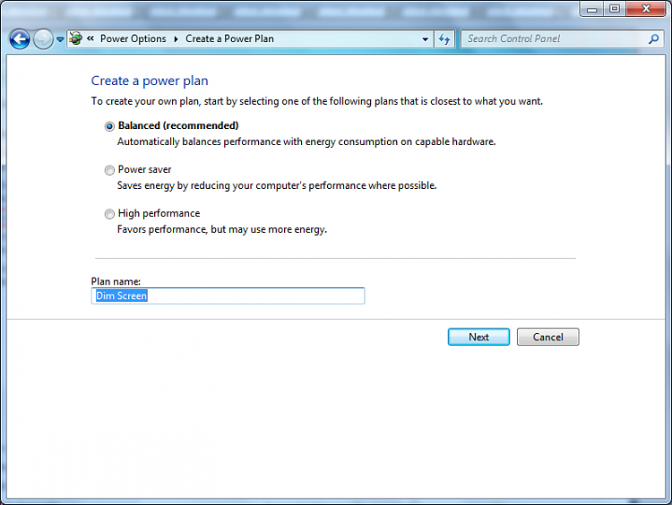 Dim laptop screen through windows-create-scheme.png