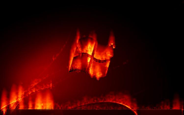Custom Windows 7 Wallpapers - The Continuing Saga-harmony_pyromania_by_abhishek.jpg