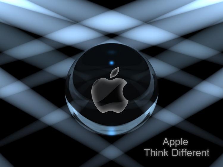 Custom Windows 7 Wallpapers - The Continuing Saga-glass_sphere_apple.png