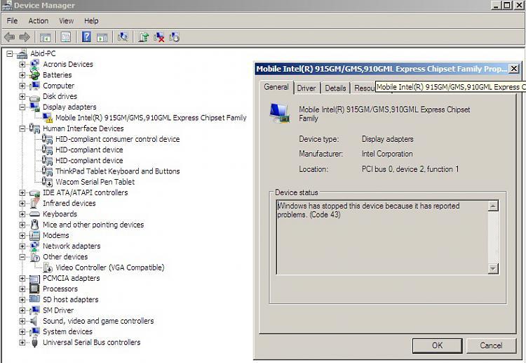 can't install mobile intel 900 graphics - uninstalls itself-inteldriverproblem.jpg