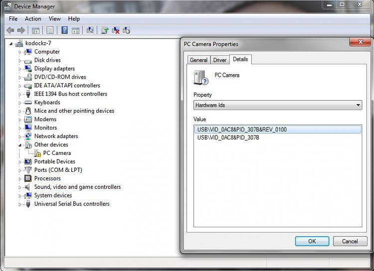 driver para camara web genius gf112 windows 7