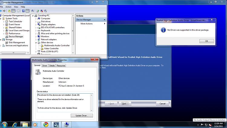 Audio Driver for P5S- MX SE-error.png