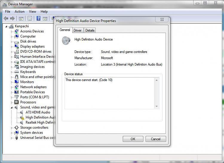 realtek driver audio hdmi
