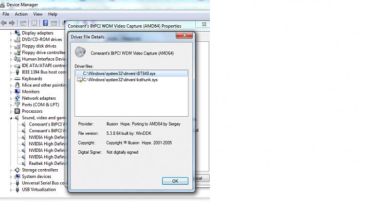 ATi TV wonder pro x64-conexant-video-capture-driver-details.png