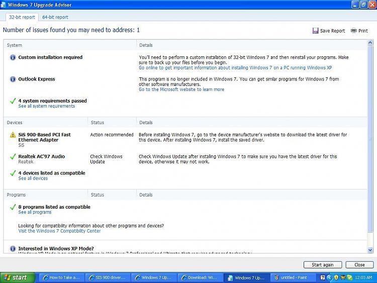 SIS 900 driver won't work on windows 7-win7upgradereport.jpg