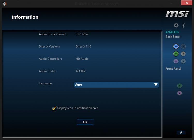 Realtek HD Audio Manager Equalizer not working Solved - Windows 7