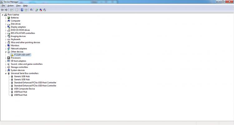 FS232R USB UART Driver - Not installing - Windows 7 Help Forums