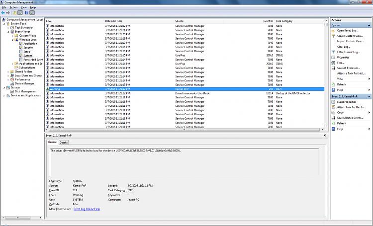 Wireless mouse & USB KB randomly lockup the machine; non-responsive-error.png