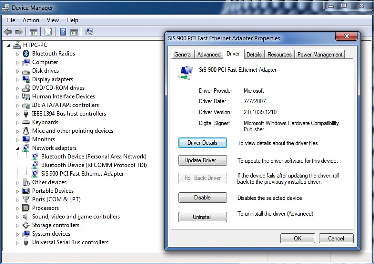 HP Pavilion a810n Windows 7 Drivers-actual_driver.png