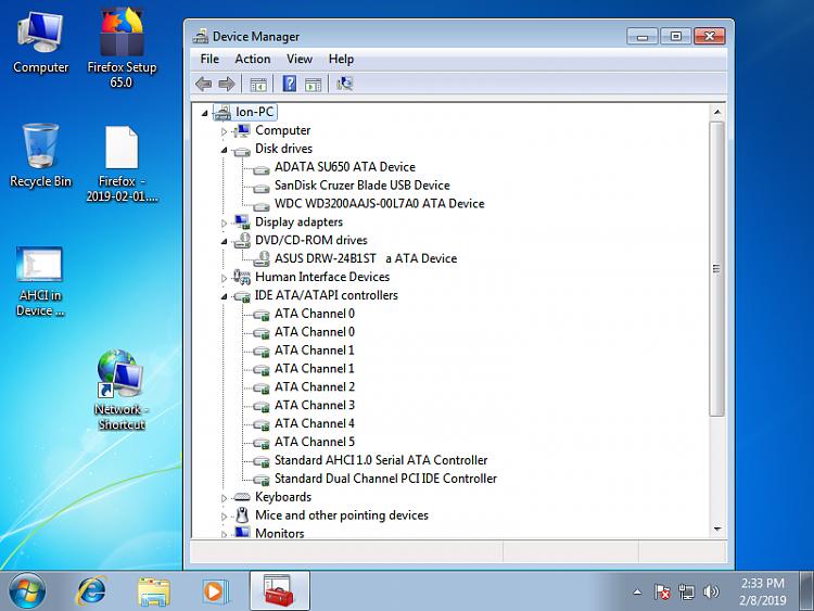 MSI 880gm-E41 BUOS backup and upgrade procedures AHCI SATA