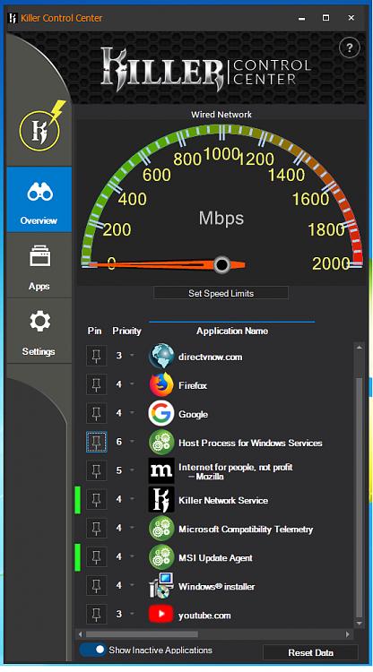 Drivers laptop Killer Wireless-AC 1550 & USB 3 - Windows 7 64Bit Helps-killer-control.png