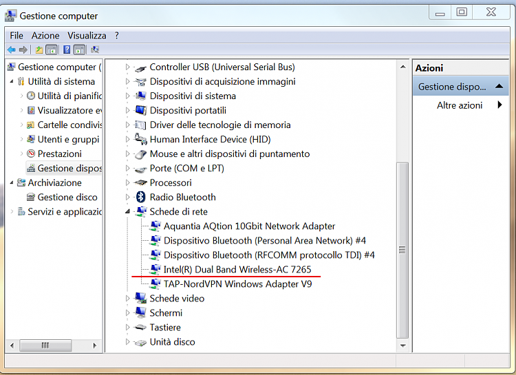 Drivers laptop Killer Wireless-AC 1550 & USB 3 - Windows 7