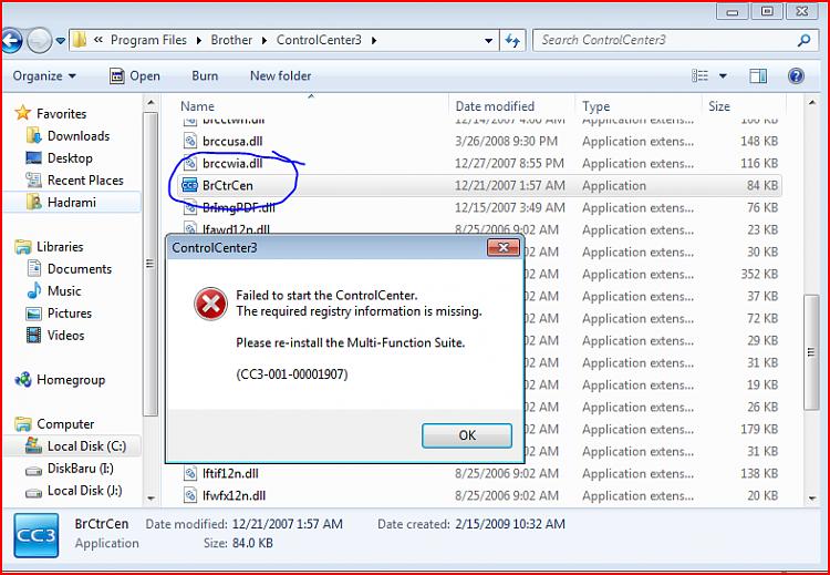 Brother Control Center 4 Télécharger Windows 7 64 bits