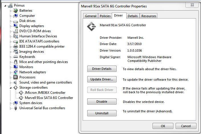AMD SATA Controller drivers for Windows 10 64-bit