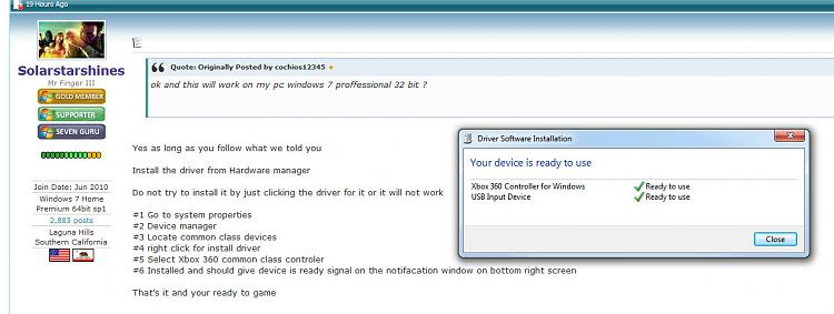 Microsoft Xbox 360 Common Controller for Windows - Black (PC)-xbox-driver.jpg