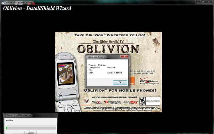 Feature Transfer Error - Access is Denied?-oblivion.png