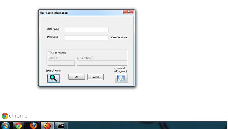 Unidentifiable program blocking installations?-error.png