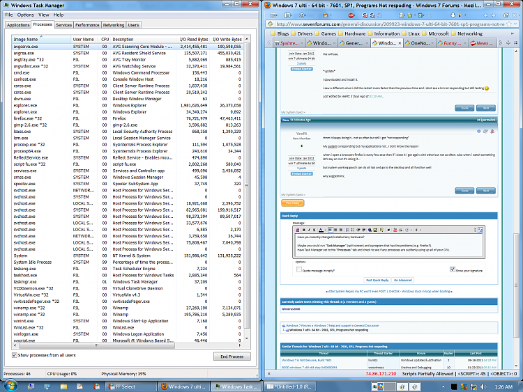 Windows 7 ulti - 64 bit - 7601, SP1, Programs Not respoding-split-screen.png