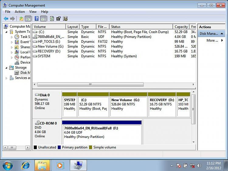 how to create a bott cd window s7 home prmeium