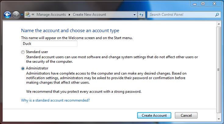 Quasi-Administrator account versus a true Adminstrator Account?-create-duck.png