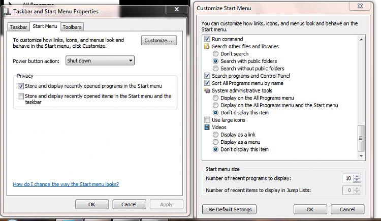 taskbar icons too big windows 7