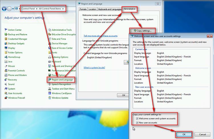 Boot Up & Shut Down Language Display Solved - Windows 7 Help