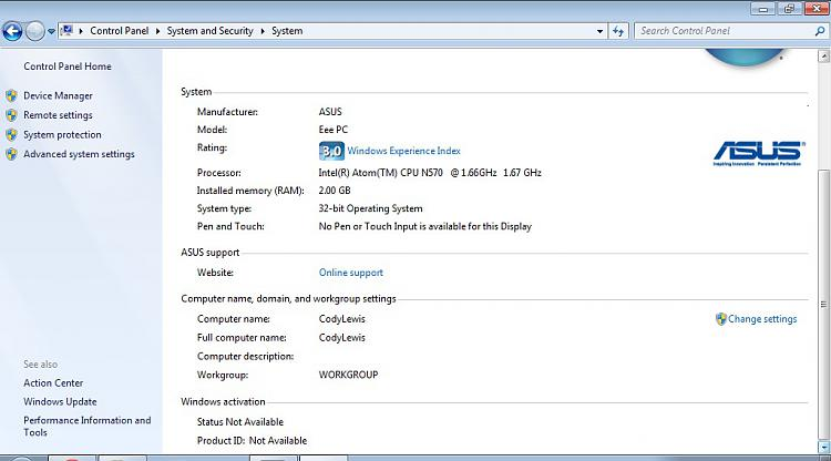 Counterfeit Windows 7 Starter on an ASUS eeePC 1015PX-asus.jpg