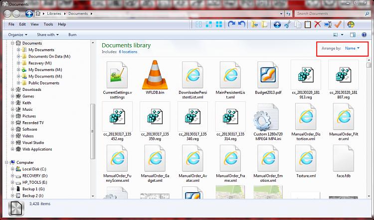 Libraries - don't want any sub-folders-screenshot256_2013-04-05.png