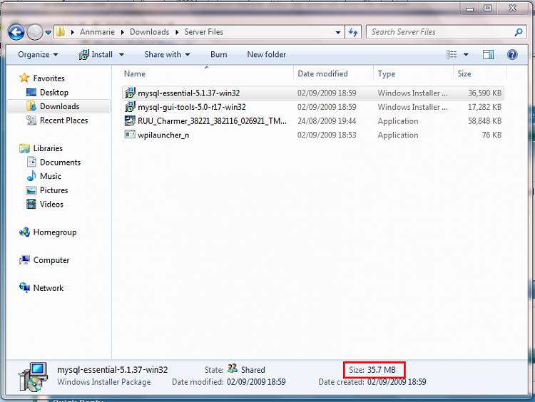 Windows Explorer Status Bar: does not show file size-capture.png