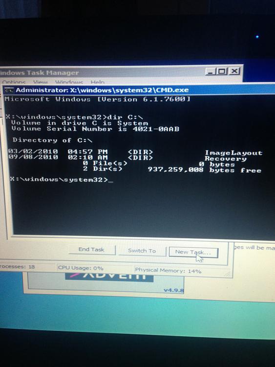 Windows 7 Wont boot - Showing recovery box - Administrator X: CMD-v__b590.jpg