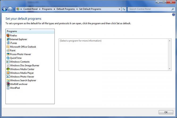 Set your default programs list - VLC-screenshot.jpg