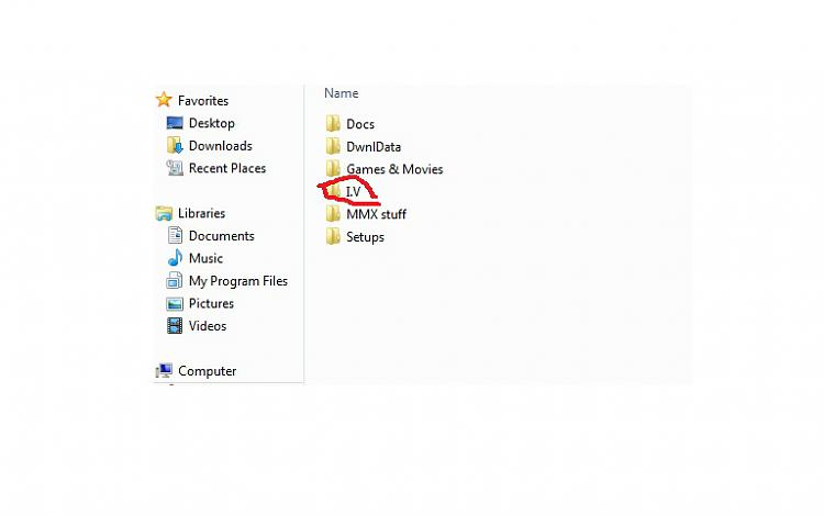 Can't create I.V. folder-i.v.jpg