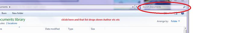 Windows 7 Windows Explorer Filter Drop Down Lists-search.png