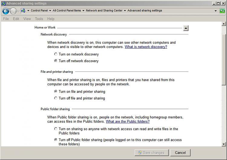 Navigation pane in Windows Explore unstable-advanced-sharing-settings.jpg