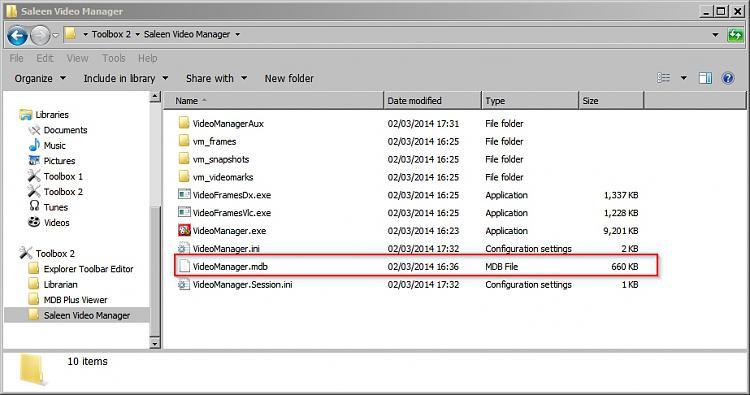 Create txt file of folder contents-videomanag-4.jpg