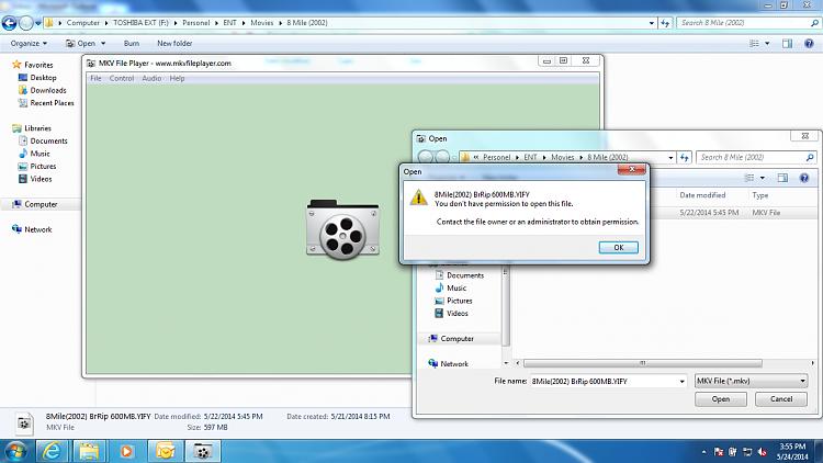 Permission error on Hard disk media files-permission-error.png